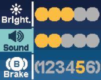 Centrifug_Elmi_Skyspin_CM-7S Ändring av ljudsignal, kontrast, broms