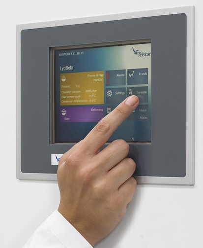 LyoBeta Touch screen