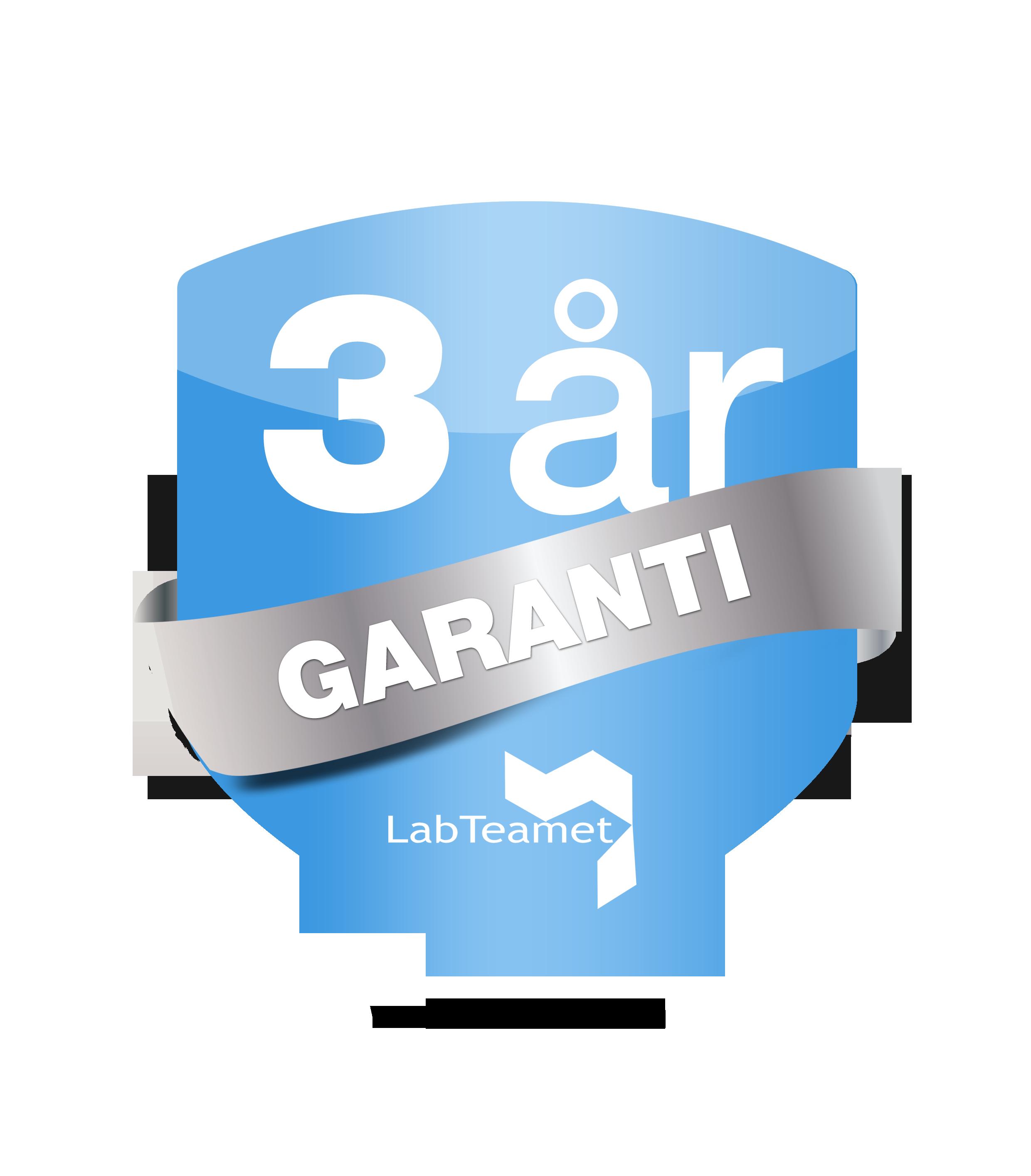 3-års garanti på alla Eppendorf centrifuger vid köp från LabTeamet