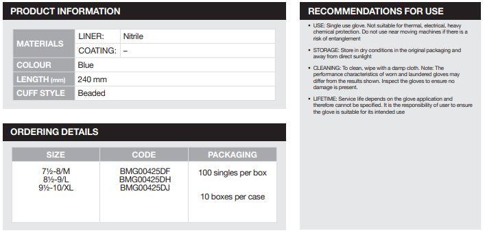 Benchmark-Nitrile-Powder-Free-Single-Use-Protection-BMG425-Nitrilhandskar-2