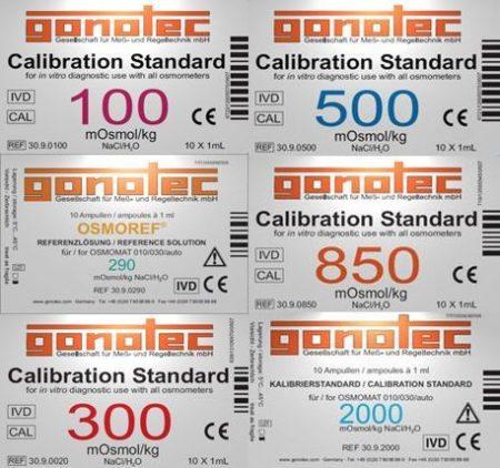 Gonotec Osmometer - Förbrukningsmaterial och tillbehör