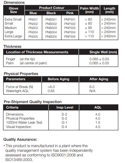 PRIME - Nitrile Examination Gloves - Nitrilhandskar-1