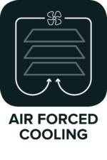 Air forced cooling