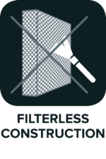 Filterless-construction