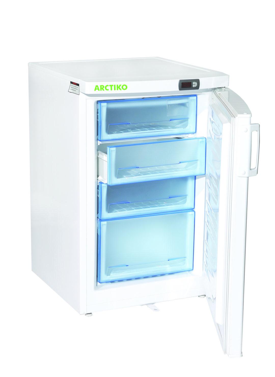 KAMPANJ på litet och smidigt lågtemperaturfrys-skåp